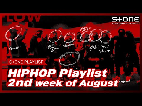 [Stone Music PLAYLIST] HipHop Playlist - 2nd week of August 창모, ZENE THE ZILLA,HD BL4CK,Skinny Brown