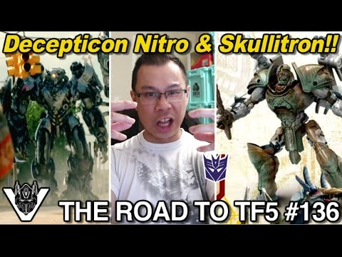 Who is Skullitron and Decepticon Nitro??? - [THE ROAD TO TF5 #136]