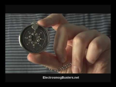 Quantum Pendant closeup look - Electrosmog Busters EMF/RF protection