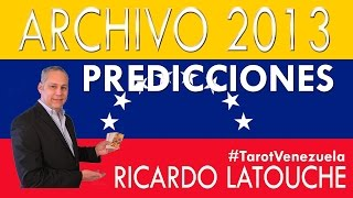 Predicciones Para Venezuela - Lectura Del Tarot Para Venezuela - Ricardo Latouche Tarot