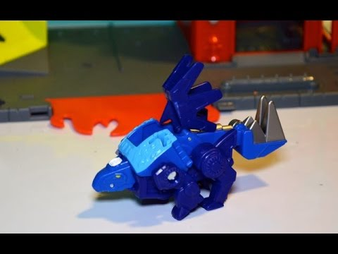 Play-Doh Missiles and Transformers Rescue Bots Chase the Rescue Dinobot Toy Review