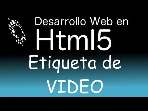 Etiqueta/tag de  video en html5