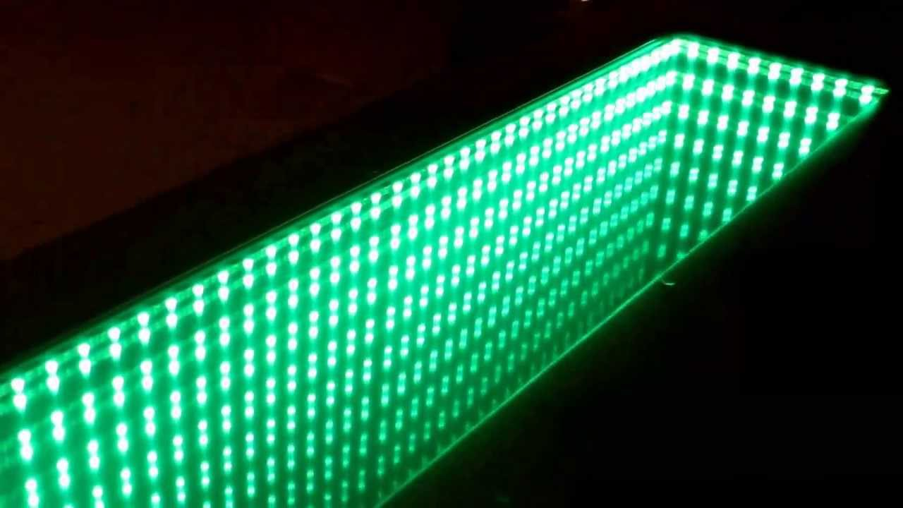 Infinity Mirror Bar Built At Home Youtube