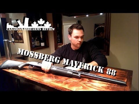 Maverick 88 Pump Action Shotgun Review