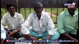 చల్లూరులోని విద్యుత్ అధికారుల తీరు పై ఆందోళకు దిగిన రైతు  | Karimnagar