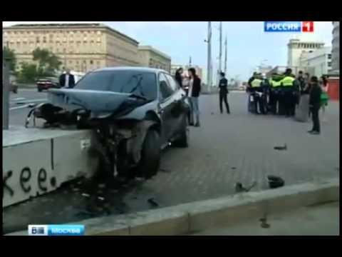 Москва Страшная авария на Кутузовском проспекте 23 05 2015