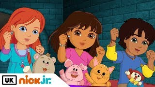 Dora and Friends   Sing Along - Hoo Hoo   Nick Jr. UK