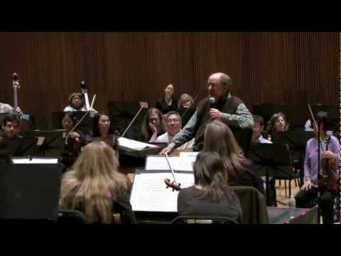 Orchestra of St. Luke&#39;s open rehearsal with Sir Roger Norrington