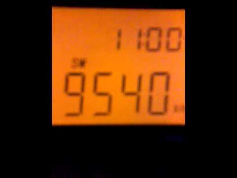 DX - Radio Free Europe (9540 kHz) captada desde Oberá