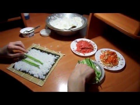 Роллы своими руками, суши в домашних условиях