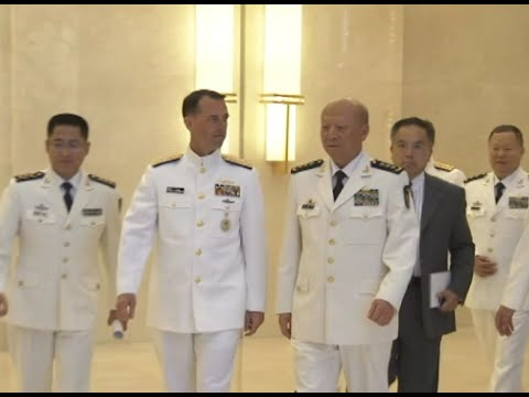 Navy Chiefs from China, US Hold Talks on South China Sea