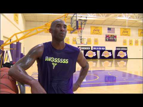 Kobe Getting Ready for the 2015 Season!