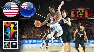 USA 🇺🇸 v New Zealand 🇳🇿 - Classic Full Games | FIBA Basketball World Cup 2014