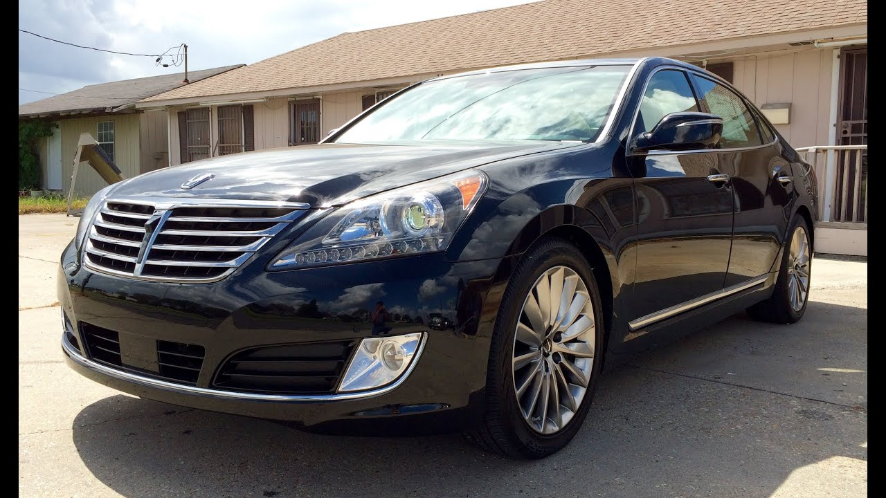 2015 Hyundai Equus Ultimate Full Review Exhaust Test