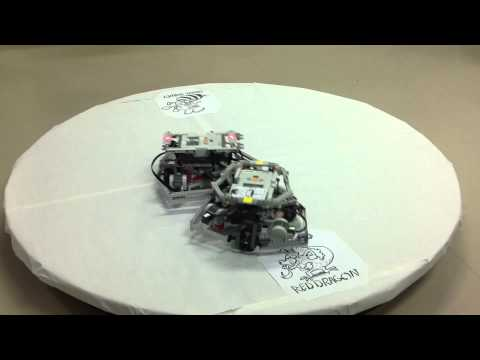 Lego Mindstorms Sumo with Camera Position Detection and Bluetooth