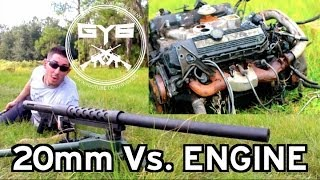 Cannon 20mm -Vs.- Engine