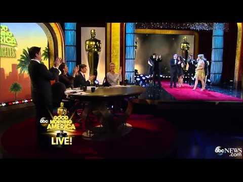Ginger Zee Wows in Oscar Worthy Dance With Derek Hough-GMA