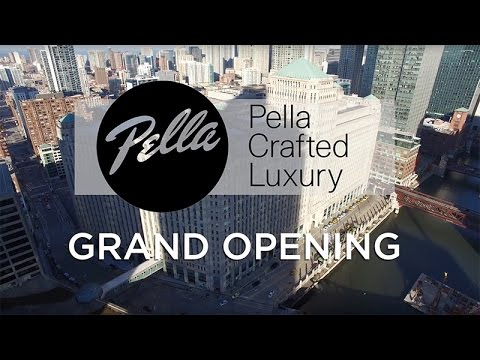 Pella Crafted Luxury Showroom Grand Opening
