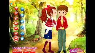 Kids in Love Dress Up Games