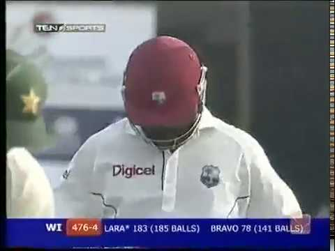 brian lara s last double ton of his career