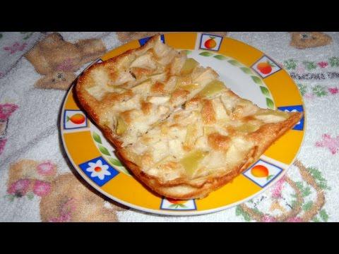Шарлотка на кефире пошаговый рецепт с фото
