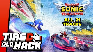 Team Sonic Racing - All 21 Tracks