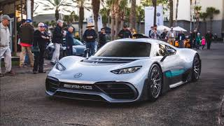 MERCEDES PROJECT ONE ON PUBLIC ROADS (HAD TO BE PUSHED)