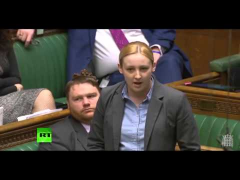 Watch Mhairi Black's attack on Tories over pensions