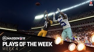 Madden 19 - Plays of the Week 4