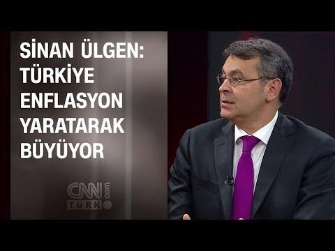 Sinan Ülgen: Türkiye enflasyon yaratarak büyüyor