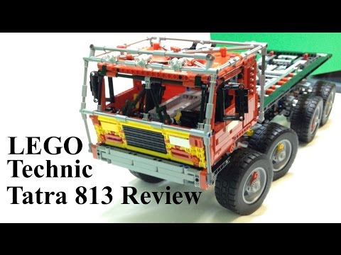 LEGO Technic Tatra 813 Trial Truck Review (Madoca Tribute)