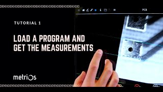 METRIOS TUTORIAL - How load a pre-set program and get the measurements