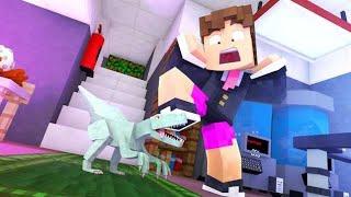 Minecraft: O MENOR DINOSSAURO CARNIVORO ! - ARK CRAFT  ‹ LOKI ›