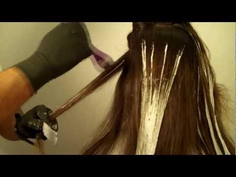 Окрашивание волос омбре видео уроки в домашних