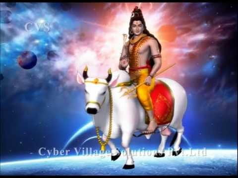 Shiva 3D Animation God Songs Part 20  --- ( Lingashtakam Om...
