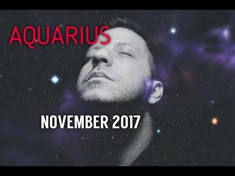 AQUARIUS November 2017 Horoscope Tarot - WISH FULFILLED   Great Month   Turning Point & Love