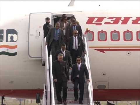 Maldives President arrives in New Delhi on two-day bilateral visit