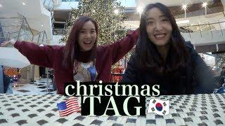 The Christmas Tag Difference Between Usa Korea Vlogmas Day¹⁵