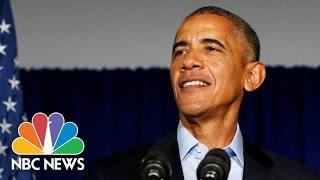 Barack Obama's Legacy: Taking Chances And Lasting Hope   NBC News