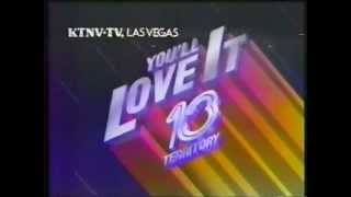 KTNV Ident and News 13 Open January 1987