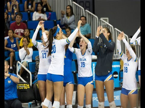 UCLA women's volleyball discusses importance of bench presence