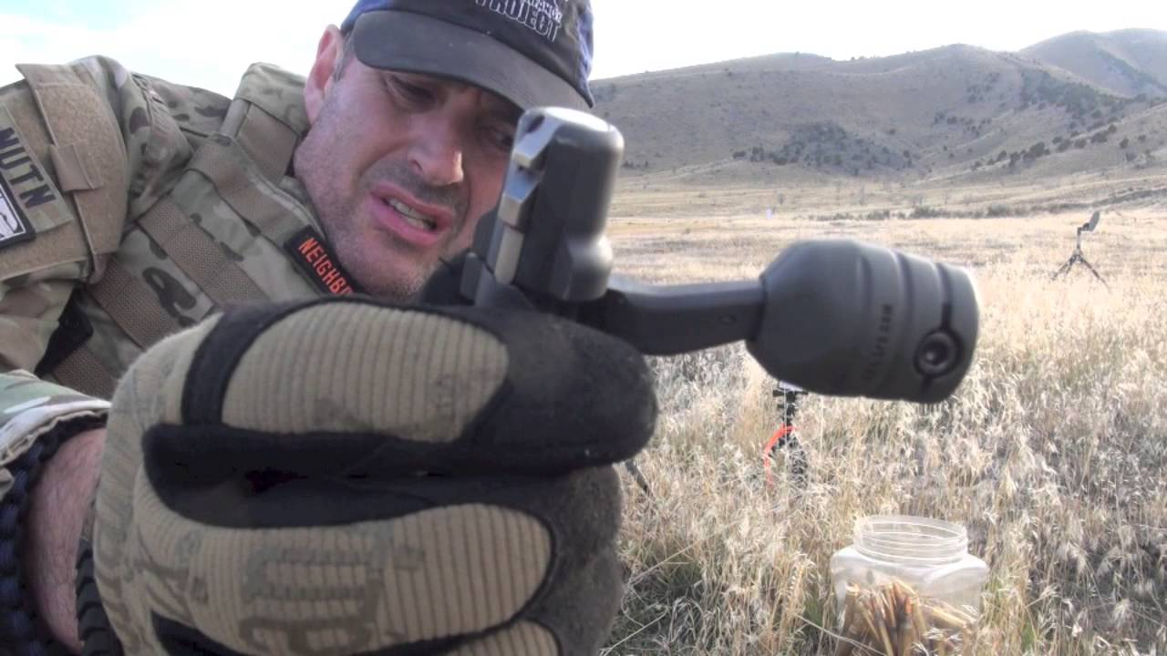 Krg Bolt Knob Review Suppressed Bolt Shooting Too By