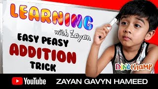 Easy Peasy Addition Trick for Kids