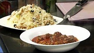 Ashpazi - Oven meatball with Mushroom rice - آشپزی - کوفته داشی با سمارق پلو