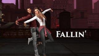 Fallin'- Alicia Keys - Dance Choreography Caryl Meredith - Second Life