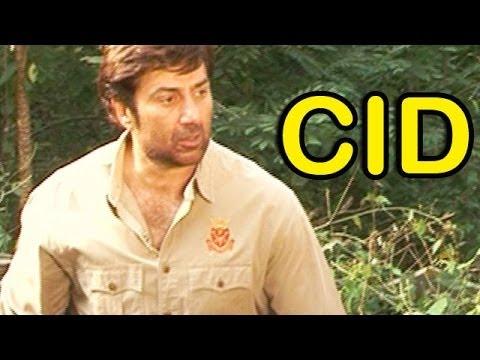 Sunny Deol shoots with the CID team