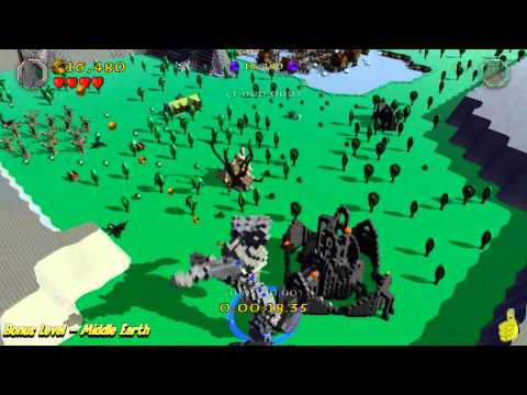 "Lego The Hobbit: Bonus Level (""Stone Giant Stomp"" Trophy/Achievement) - HTG"