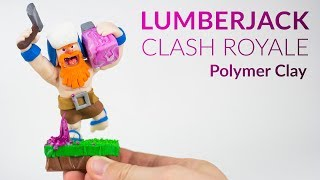 Lumberjack (Clash Royale) – Polymer Clay Tutorial