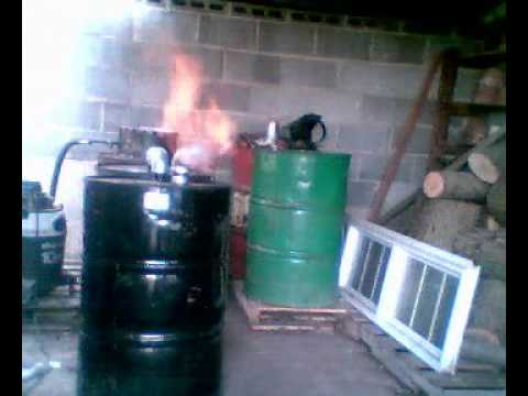 wood gasifier - wood gas - free energy