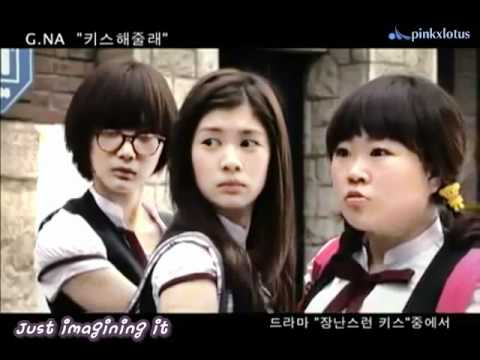 [eng Sub][mv]playful Kiss Ost - G.na -  Kiss Me (키스해줄래) video